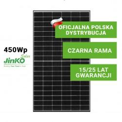 Panel Fotowoltaiczny Jinko 450W Tiger Pro (czarna rama)