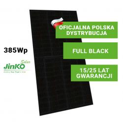 Panel Fotowoltaiczny Jinko 385W All Black (full black)