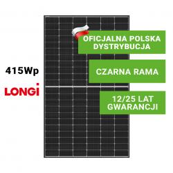 Panel Fotowoltaiczny LONGI 415W Half Cut (czarna rama)