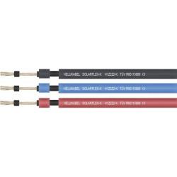 Przewód fotowoltaiczny 6mm² CZARNY - SOLARFLEX-X H1Z2Z2-K
