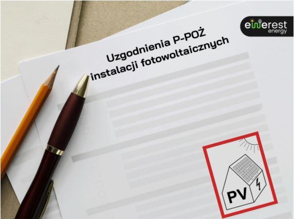 Uzgodnienia P-POŻ instalacji fotowoltaicznych